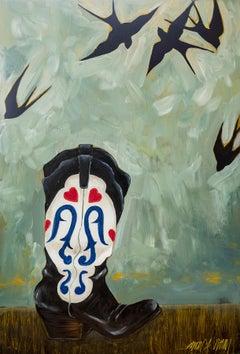 Barn Swallow Wedding Boots