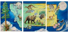 Big Sky Country (triptych)
