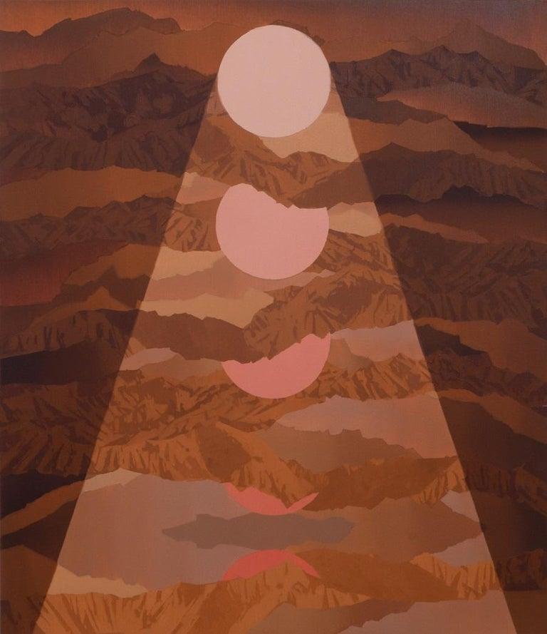 Beau Carey Landscape Painting - Penumbra