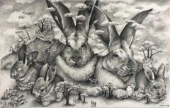 Rabbits at Stonehenge