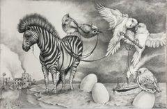 Zebra and Eggs