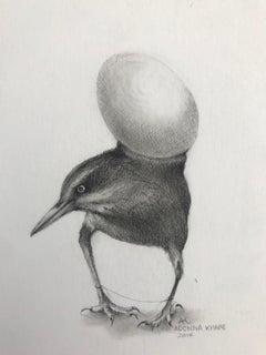 Bird with Egg