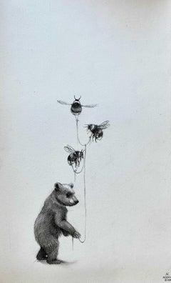 Bear and Bumble Bees