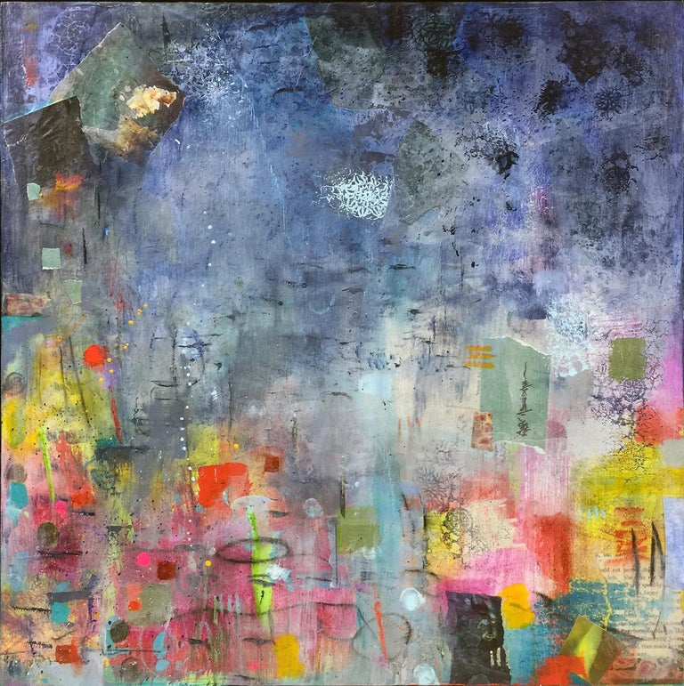 Grisly frosts, first autumn morns, repeal the beating ground II - Mixed Media Art by Robin Colodzin