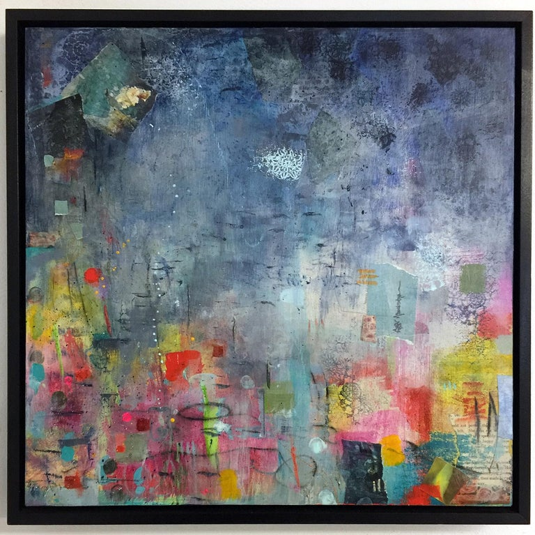 Grisly frosts, first autumn morns, repeal the beating ground II - Contemporary Mixed Media Art by Robin Colodzin