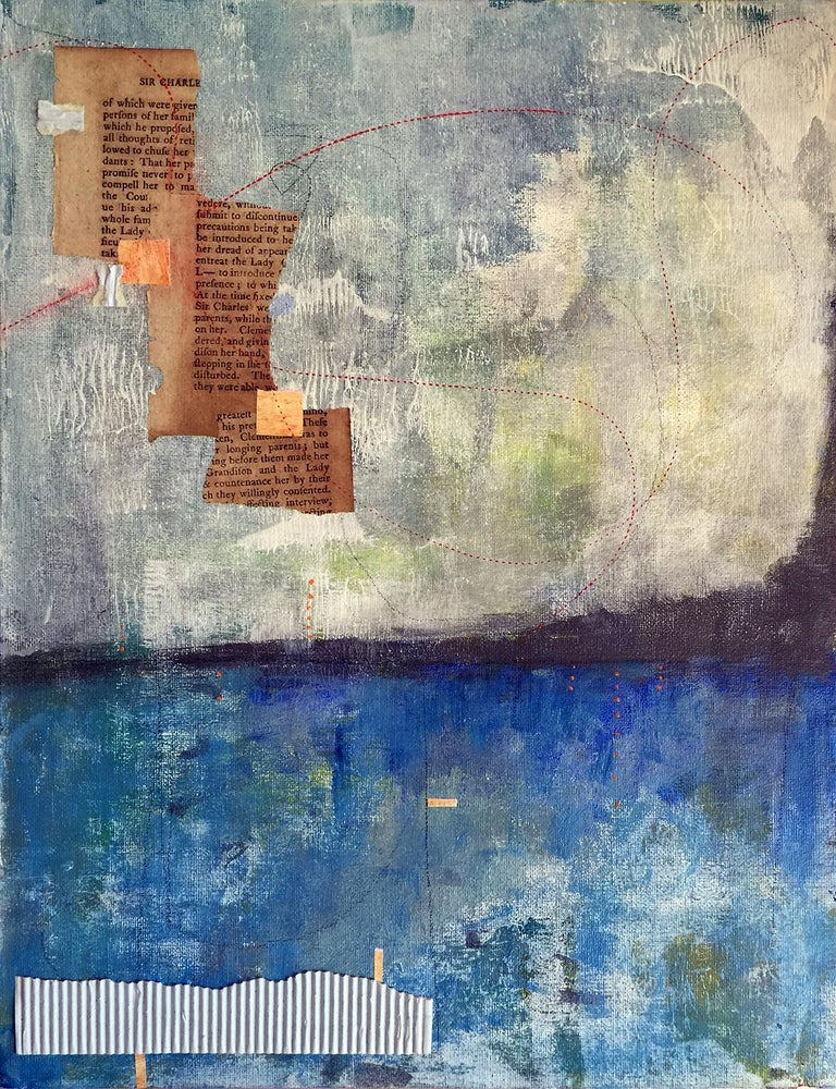 Poem to the Horizon - Mixed Media Art by Robin Colodzin