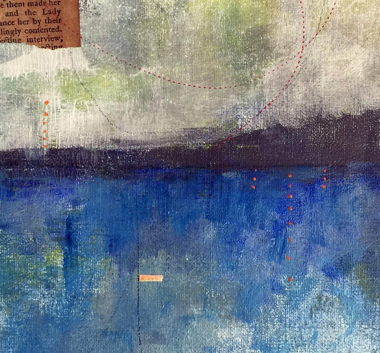 Poem to the Horizon - Contemporary Mixed Media Art by Robin Colodzin