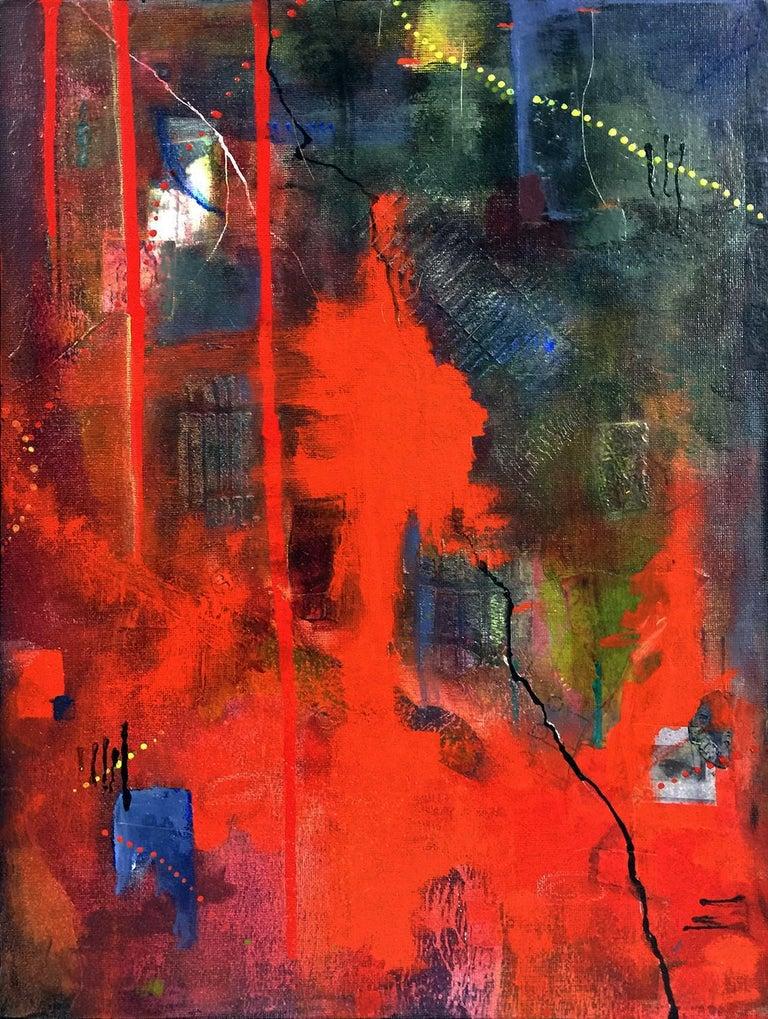 Nor fire - Mixed Media Art by Robin Colodzin