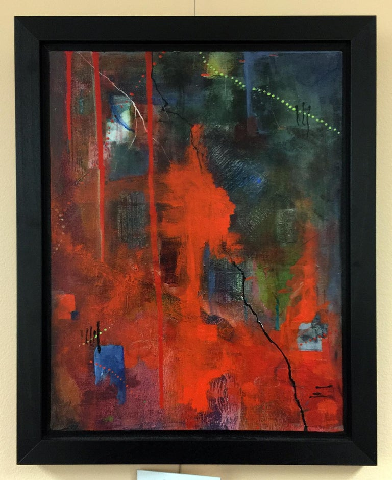 Nor fire - Contemporary Mixed Media Art by Robin Colodzin