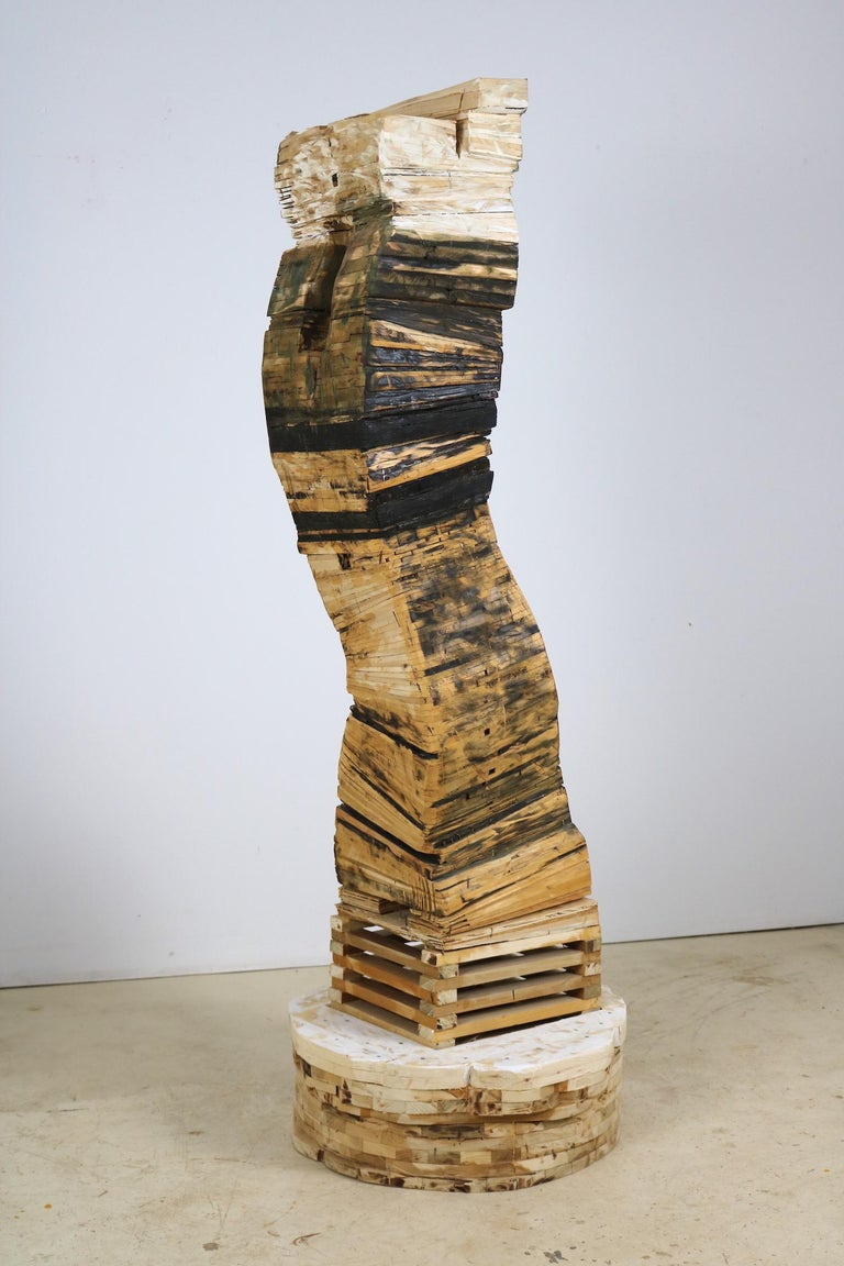 Point of Departure 5 - Contemporary Sculpture by Leslie Zelamsky