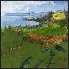 """Ipswich VII,"" John Daly, acrylic, painting, panel, landscape, contemporary"