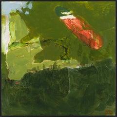 """Ipswich  V,"" John Daly, acrylic, painting, panel, landscape, contemporary"