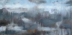 """""""Translation of 'Les Folies d'Espagne' (M. Marais)"""", acrylic, landscape"""