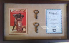 Original Houdini Keys From Houdini Museum with Certificate of Authenticity