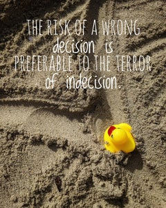The Risk Of A Wrong Decision