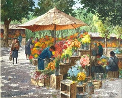 The Flower Workers, Rome