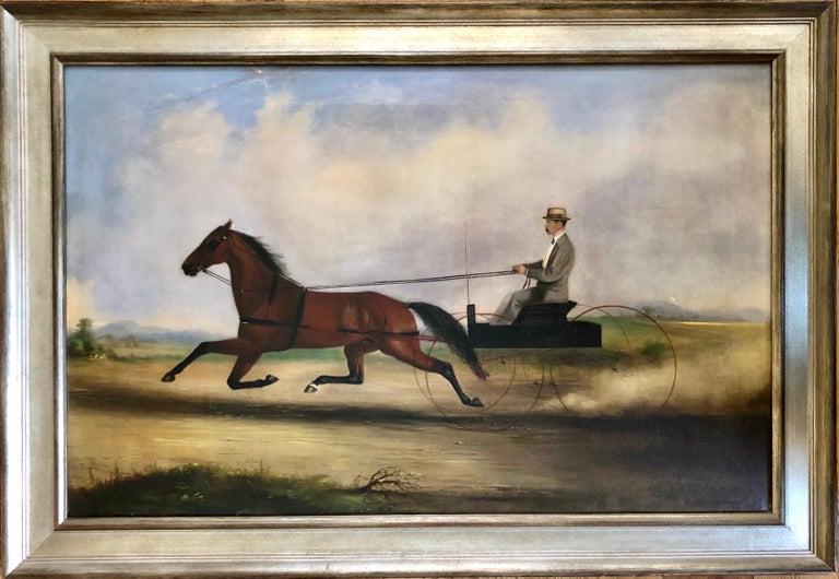 Thomas Kirby Van Zandt Animal Painting - The Quick Trotter