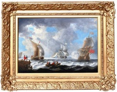 Dutch-Anglo Naval Engagement