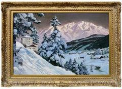 Tyrolean Village at Dusk