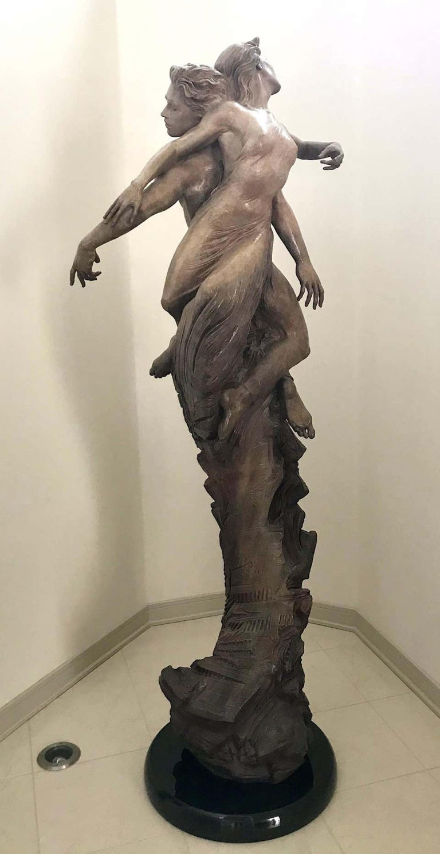 Rapture - Romantic Sculpture by Martin Eichinger