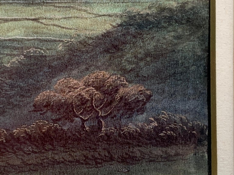 Chinese 19th century landscape For Sale 1