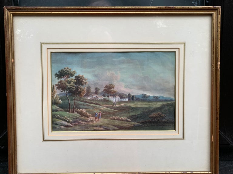 Chinese 19th century landscape For Sale 3