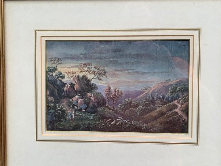 China Trade  Landscape Art - Chinese 19th century landscape