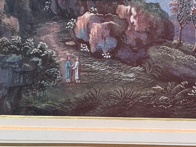 Chinese 19th century landscape - Victorian Art by China Trade