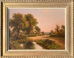 19th Century Victorian English cottage landscape