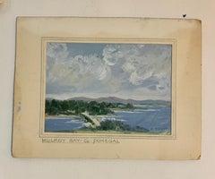 Irish mid century river landscape, Mulroy Bay, Co. Donegal