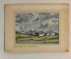 Irish mid century river landscape, Errigal, Co. Donegal