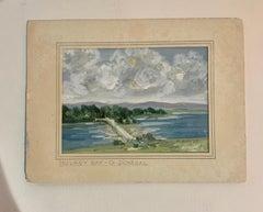 Irish mid century river landscape , Mulroy Bay, Co. Donegal