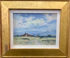 Impressionist English 20th century, cottage landscape near Winterton, Norfolk