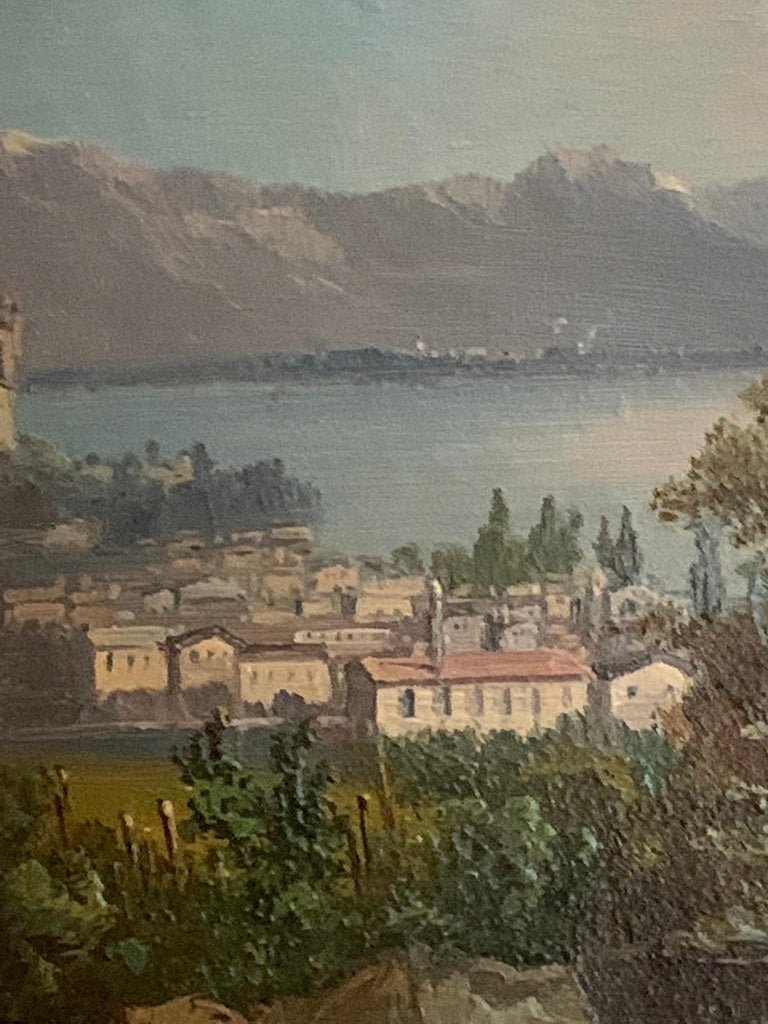 Early 20th century Swiss views of Vevey,on the north shore of Lake Geneva For Sale 1