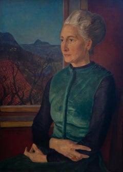 Bildnis der Franziska Lohmann (Portrait of Franziska Lohmann) - New Objectivity
