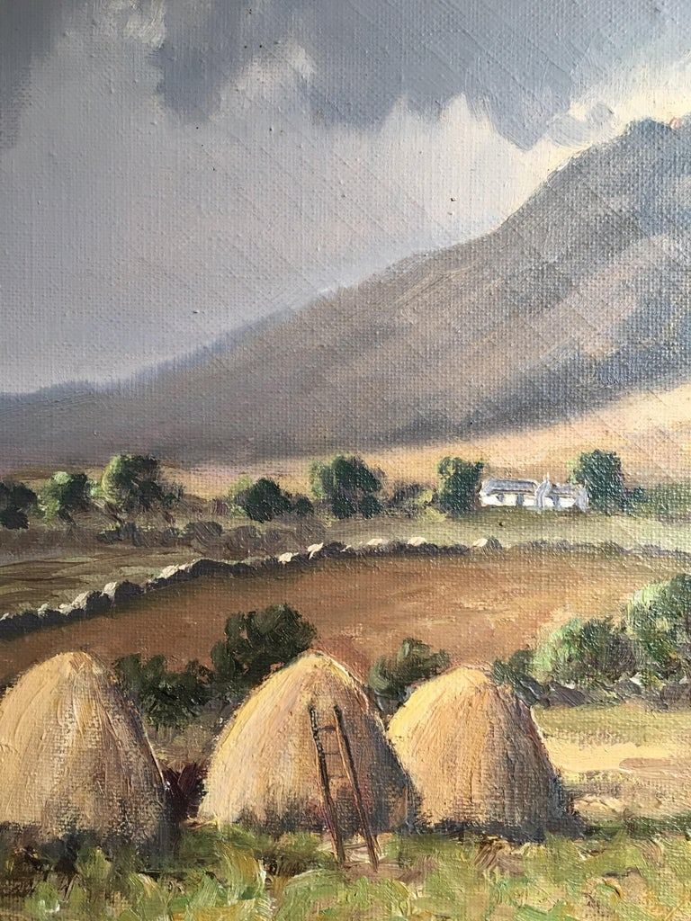 The Mournes Irish Mountains, County Down, Oil Painting Signed For Sale 2