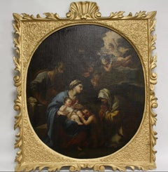 The Nativity, Large Italian Old Master Oil Painting on canvas