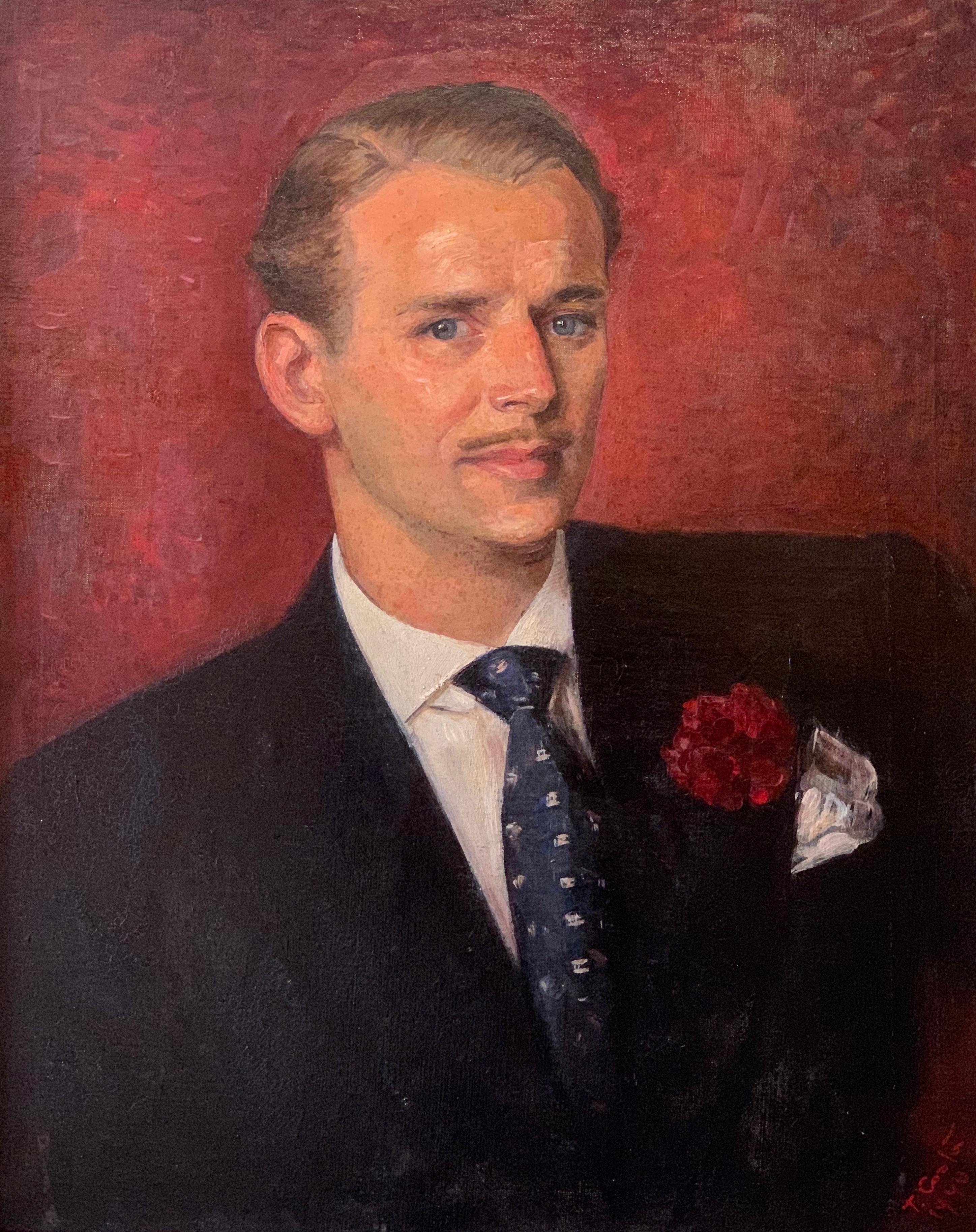 Douglas Fairbanks Jnr. Period 1940's Original Portrait of Fairbanks - Provenance