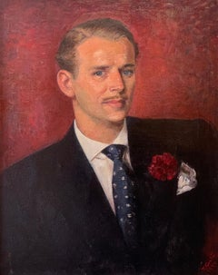 Douglas Fairbanks Jnr. Period 1940's Original Portrait of Fairbanks - Provenance