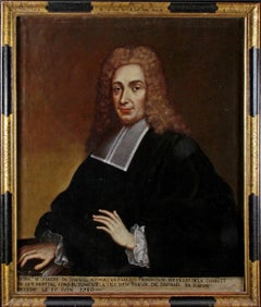 Portrait of Pierre De Darnal, Lawyer of Parliament, French School circa 1700.