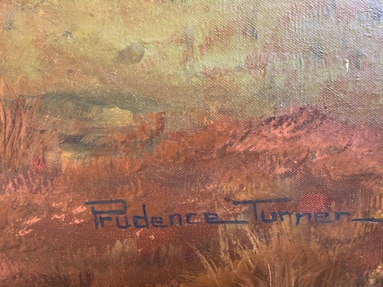 Tranquil Summer Scottish Highlands Loch Landscape Oil Painting 1