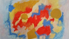 Provence Abstract mid 20th Century Painting