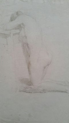 Impressionist Nude Drawings and Watercolours
