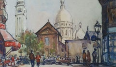 Ecole de Paris Mid 20th Century Paris Sacre Coeur Montmartre