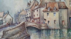 Mid 20th Century, Luxembourg, Old Town and Bridge
