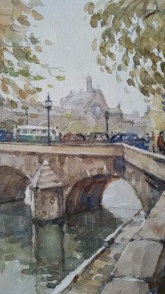 Ecole de Paris Mid 20th Century Pont Royal Bridge