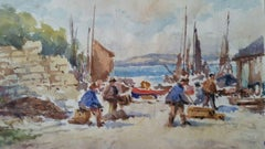 Mid 20th Century, Wales, Conwy Fishermen