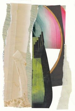 Art Forum I - Digital Print on Hammemule Paper -Edition of 10 - Abstract Collage