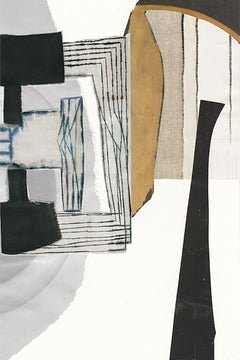 Art Forum II- Digital Print on Hammemule Paper -Edition of 10 - Abstract Collage