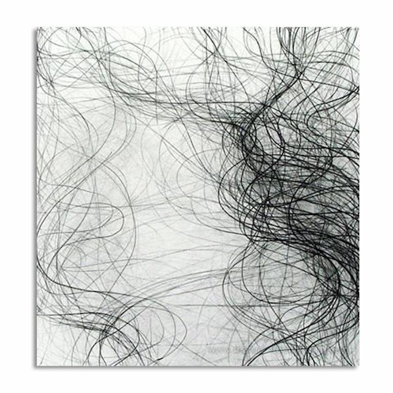 Margaret Neill Abstract Drawing - Prospectus Series 2 - Graphite on Archival Paper - Abstract Contemporary